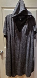 Torrid size 3 hacci knit hooded dress